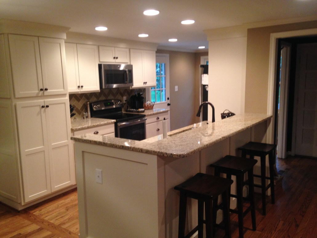 Galley Kitchen Cabinet Installation Blaurock Construction